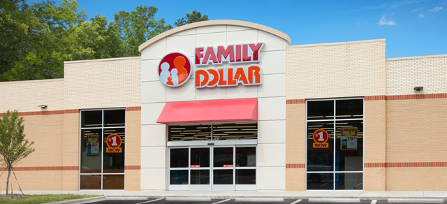 Family Dollar Store in Branford, FL.